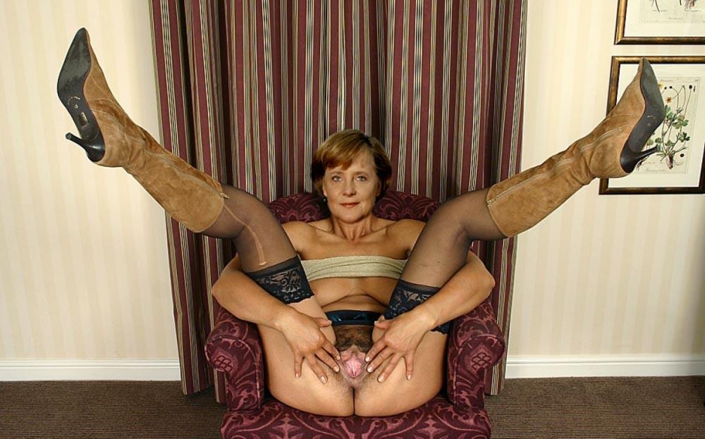 Ангела Меркель голая. Фото - 62