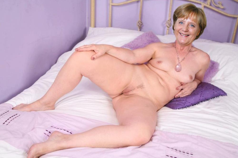 Ангела Меркель голая. Фото - 64