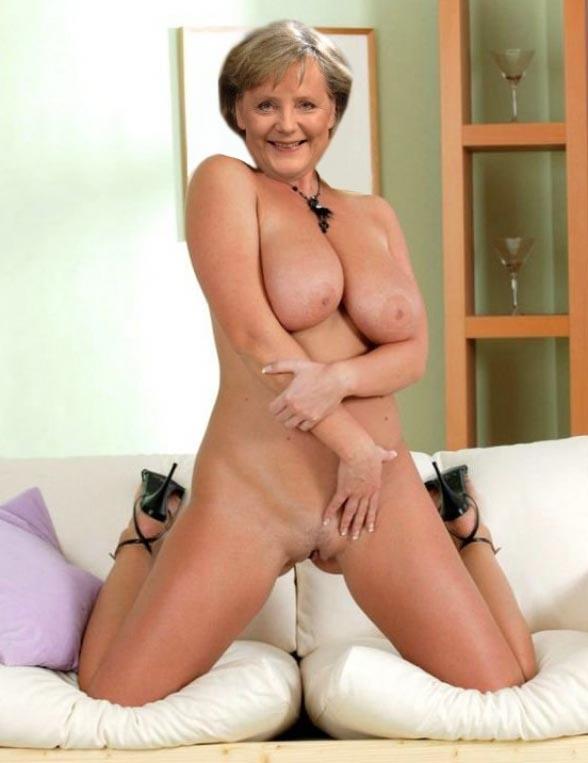 Ангела Меркель голая. Фото - 66