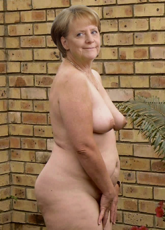 Ангела Меркель голая. Фото - 68