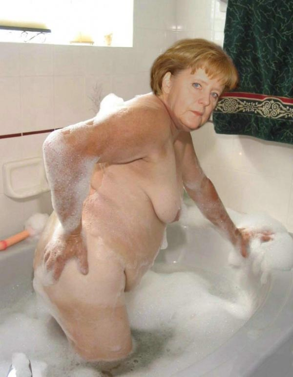 Ангела Меркель голая. Фото - 71