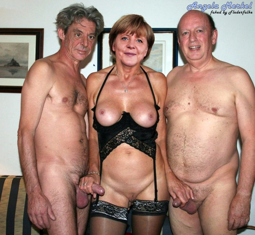 Ангела Меркель голая. Фото - 72