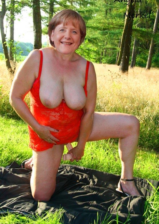 Ангела Меркель голая. Фото - 73