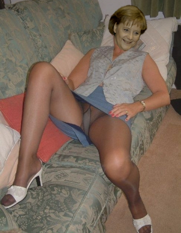 Ангела Меркель голая. Фото - 74