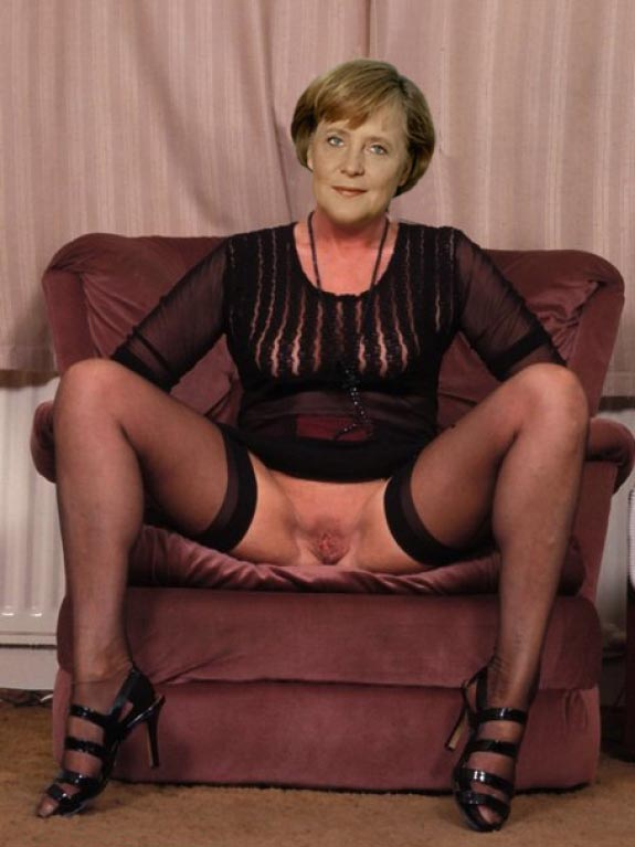 Ангела Меркель голая. Фото - 75