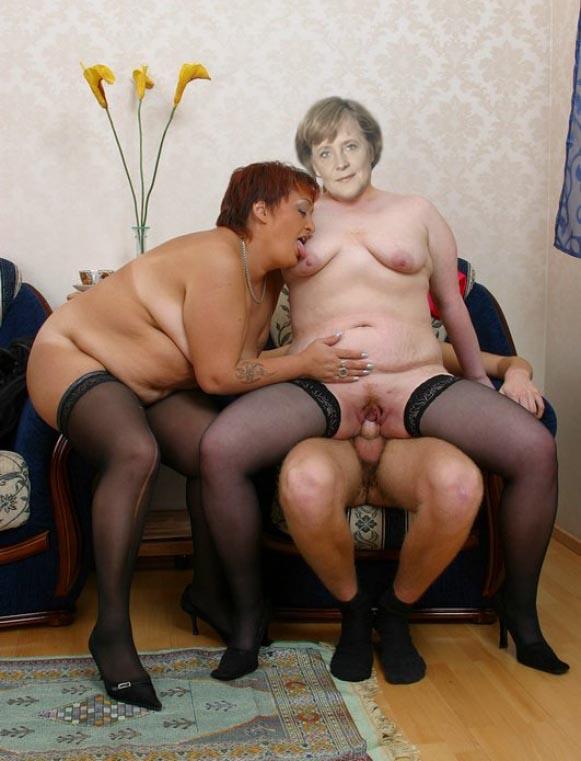 Ангела Меркель голая. Фото - 76
