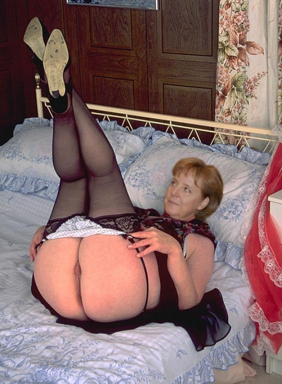 Ангела Меркель голая. Фото - 78