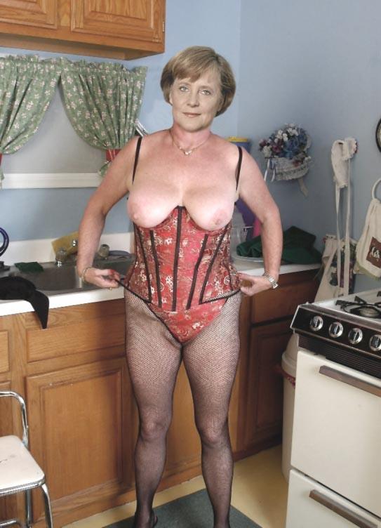 Ангела Меркель голая. Фото - 84