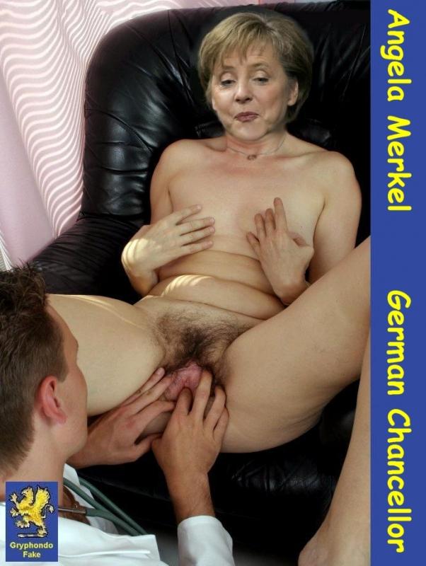 Ангела Меркель голая. Фото - 86