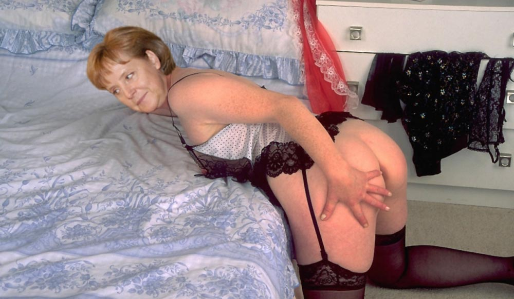 Ангела Меркель голая. Фото - 89