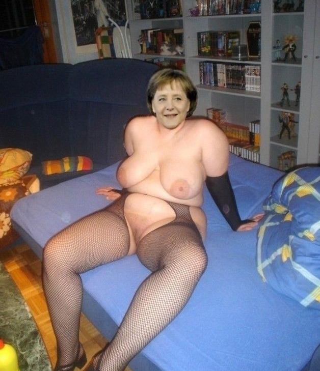 Ангела Меркель голая. Фото - 9