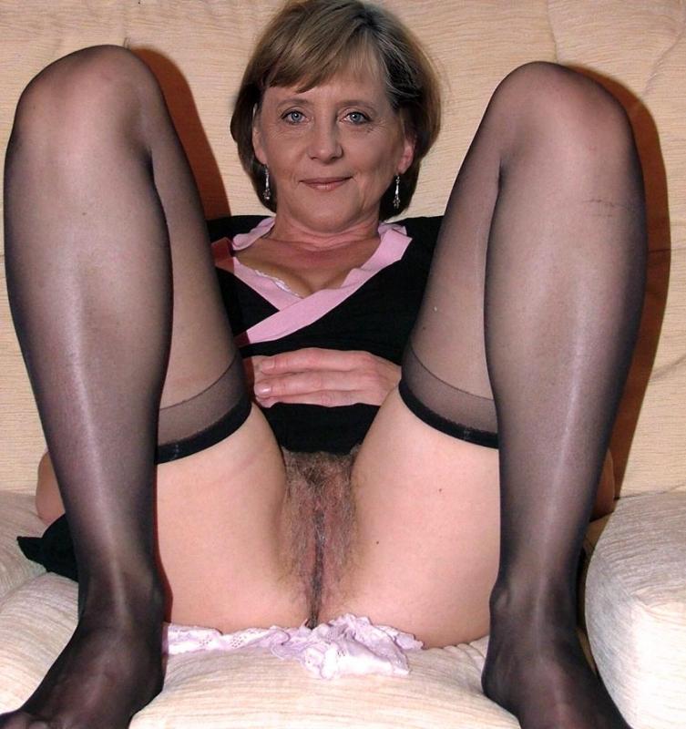 Ангела Меркель голая. Фото - 90