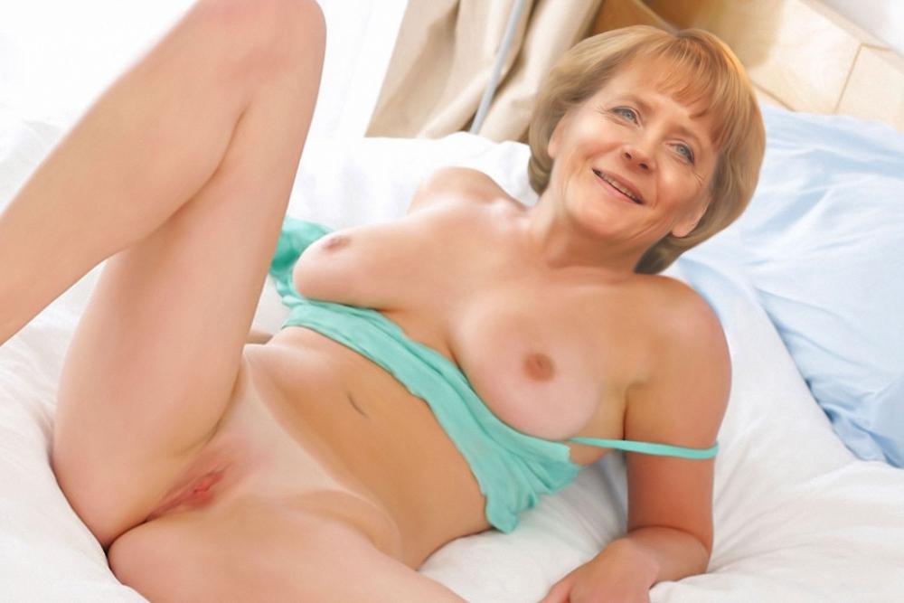 Ангела Меркель голая. Фото - 92
