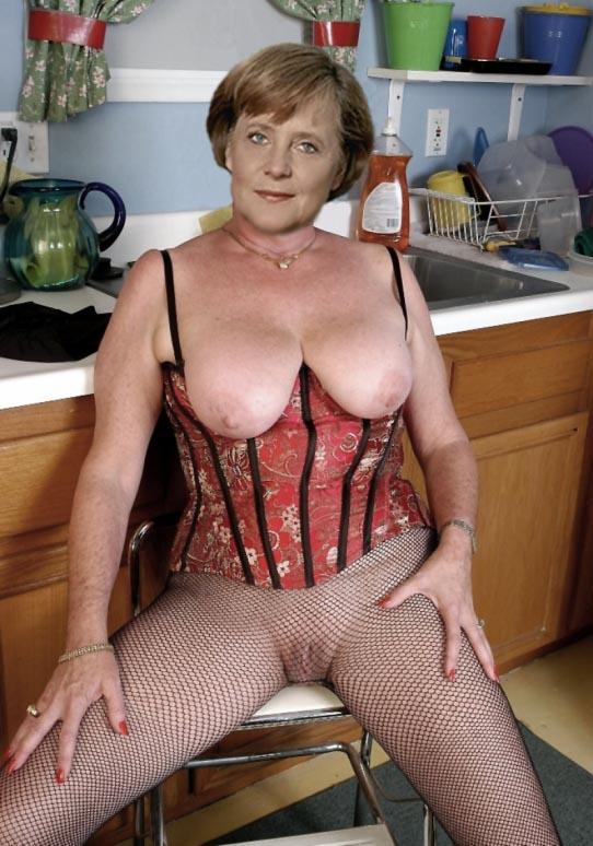Ангела Меркель голая. Фото - 95