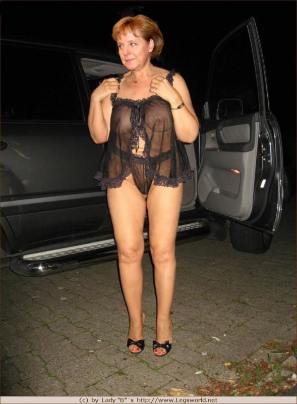 Ангела Меркель голая. Фото - 96