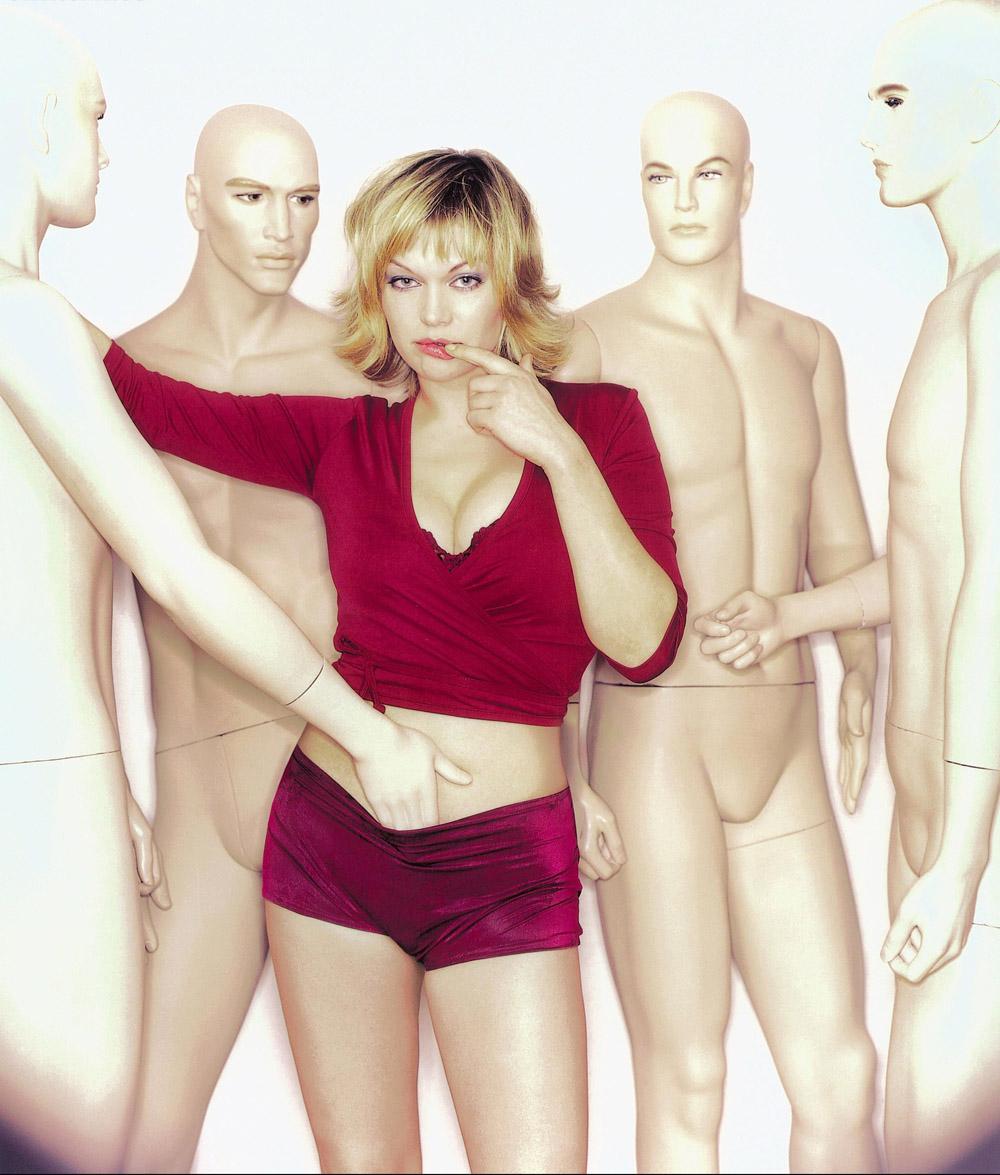 Анна Лоос голая. Фото - 1