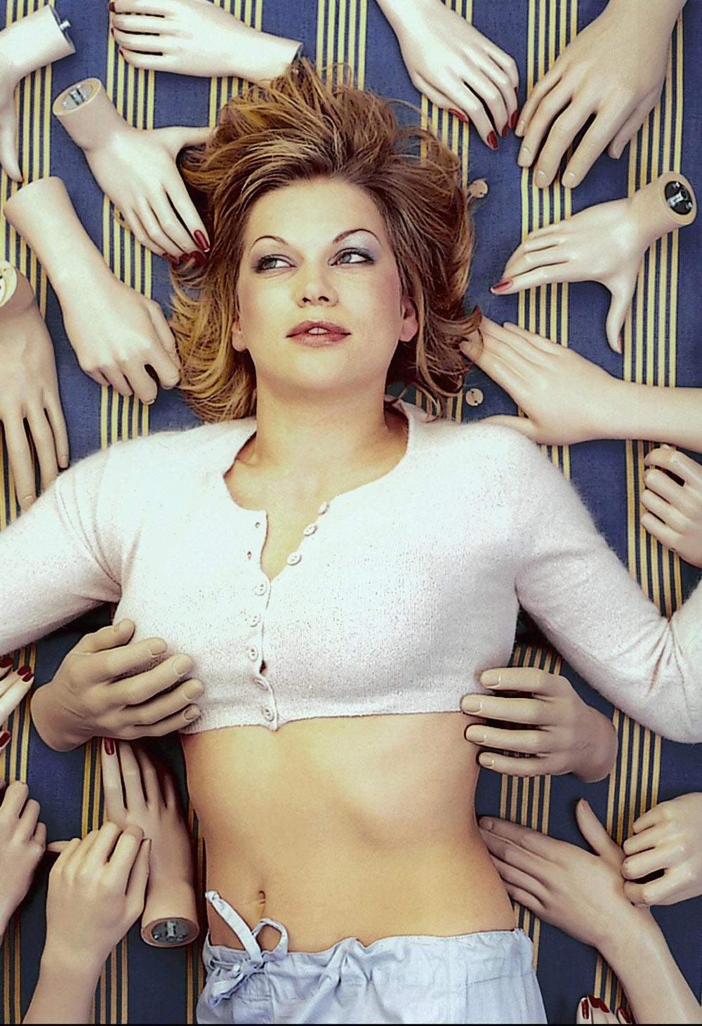 Анна Лоос голая. Фото - 2