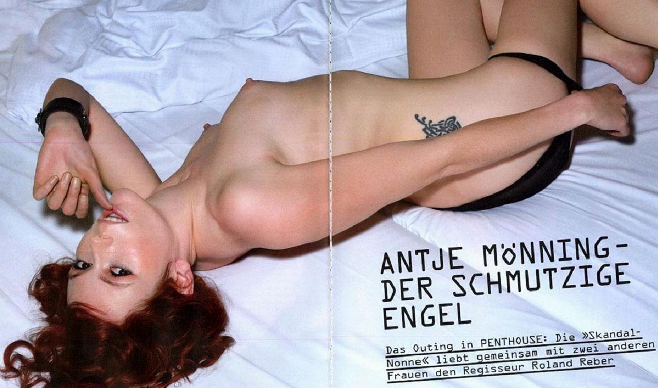Антье Моннинг голая. Фото - 12