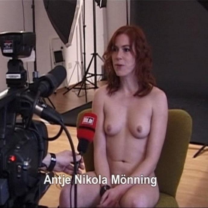 Антье Моннинг голая. Фото - 9