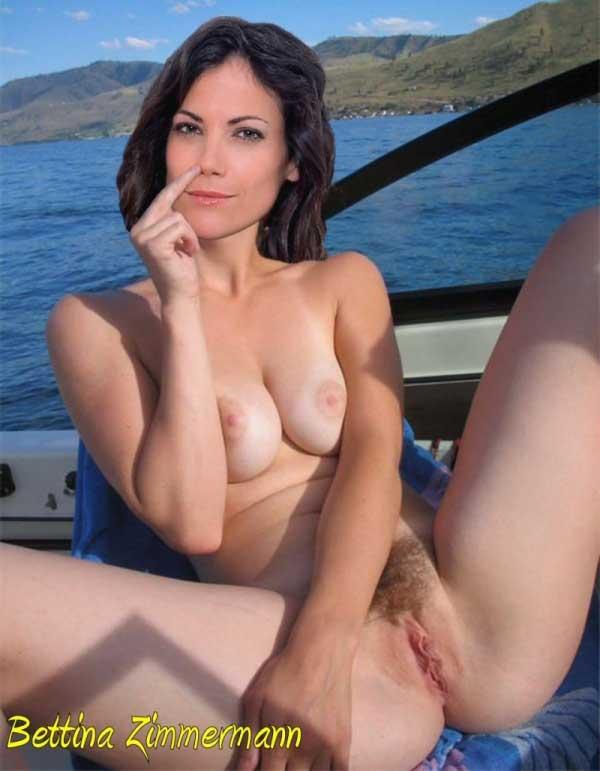 Беттина Циммерман голая. Фото - 33