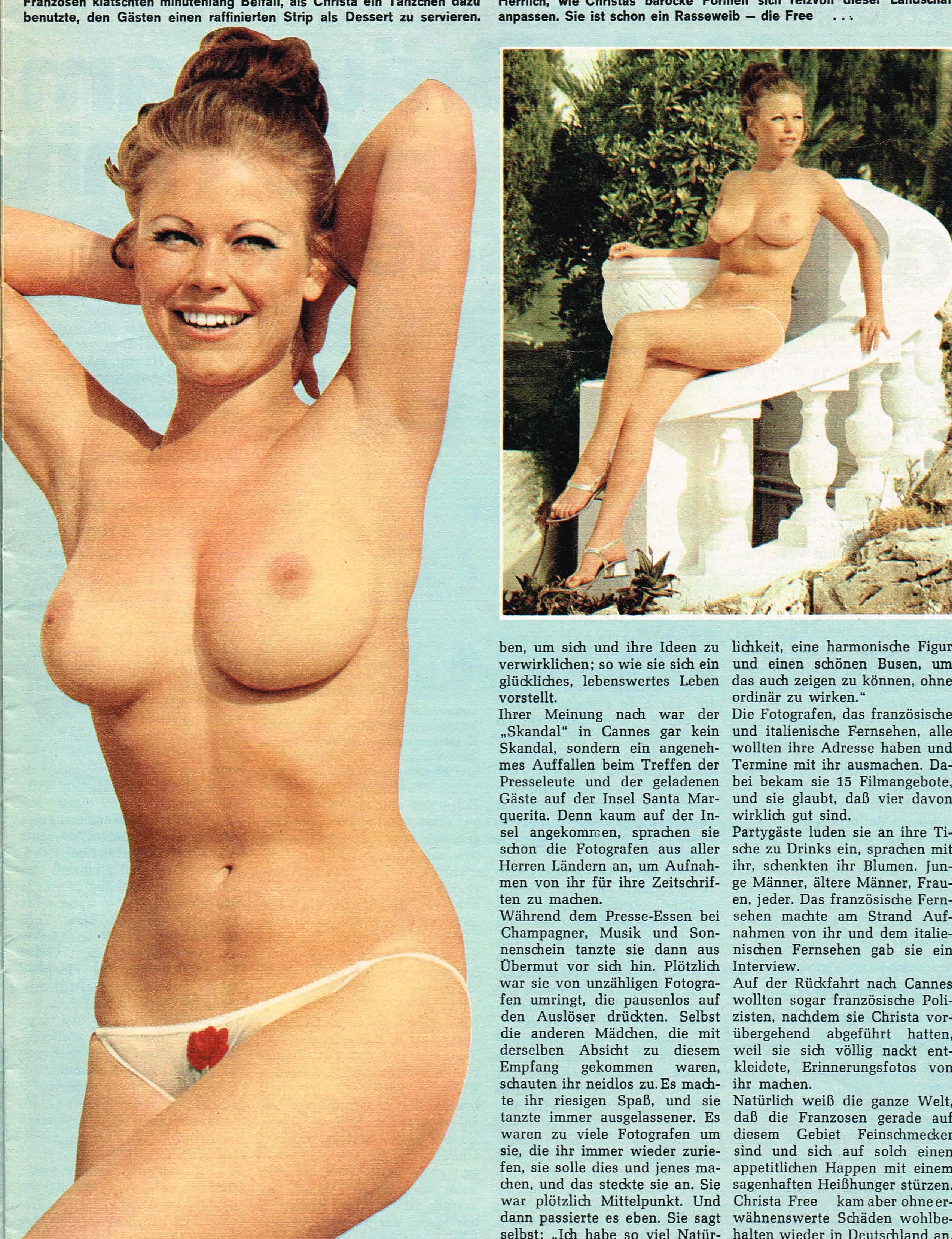 Криста Фри голая. Фото - 185