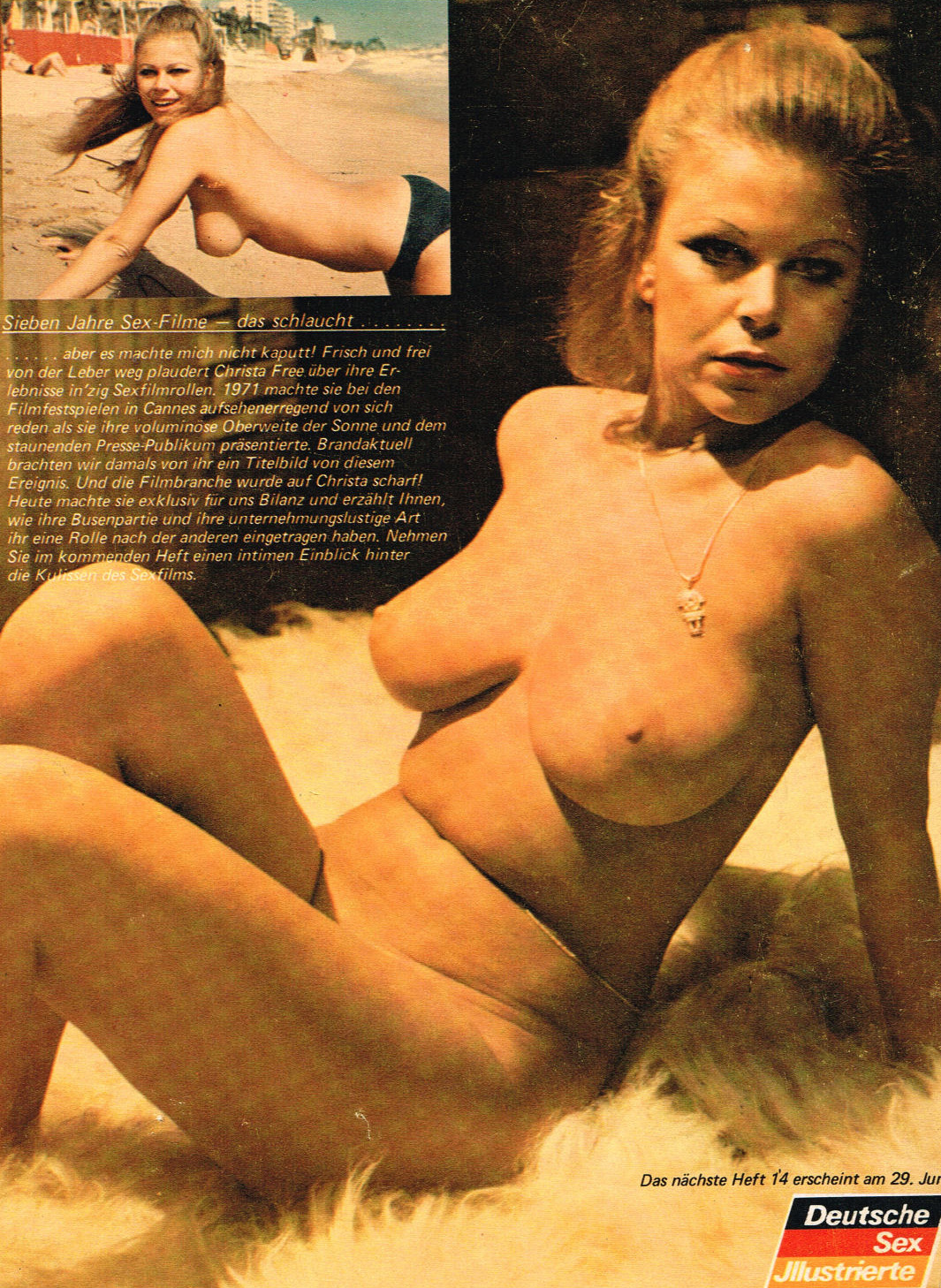 Криста Фри голая. Фото - 226