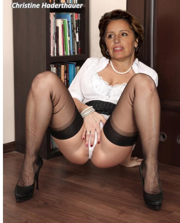 Кристина Хадертхауэр голая. Фото - 3