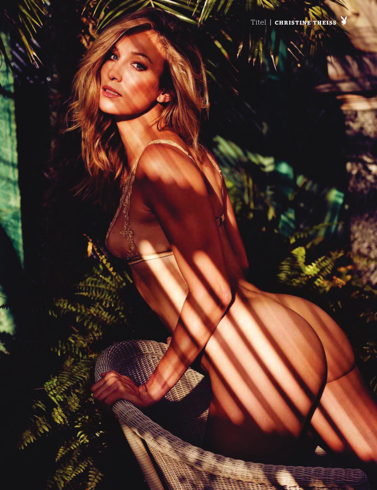 Кристин Тэйсс голая. Фото - 20