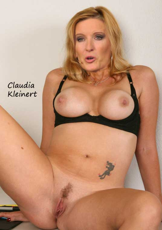 Claudia Kleinert Nackt. Fotografie - 14