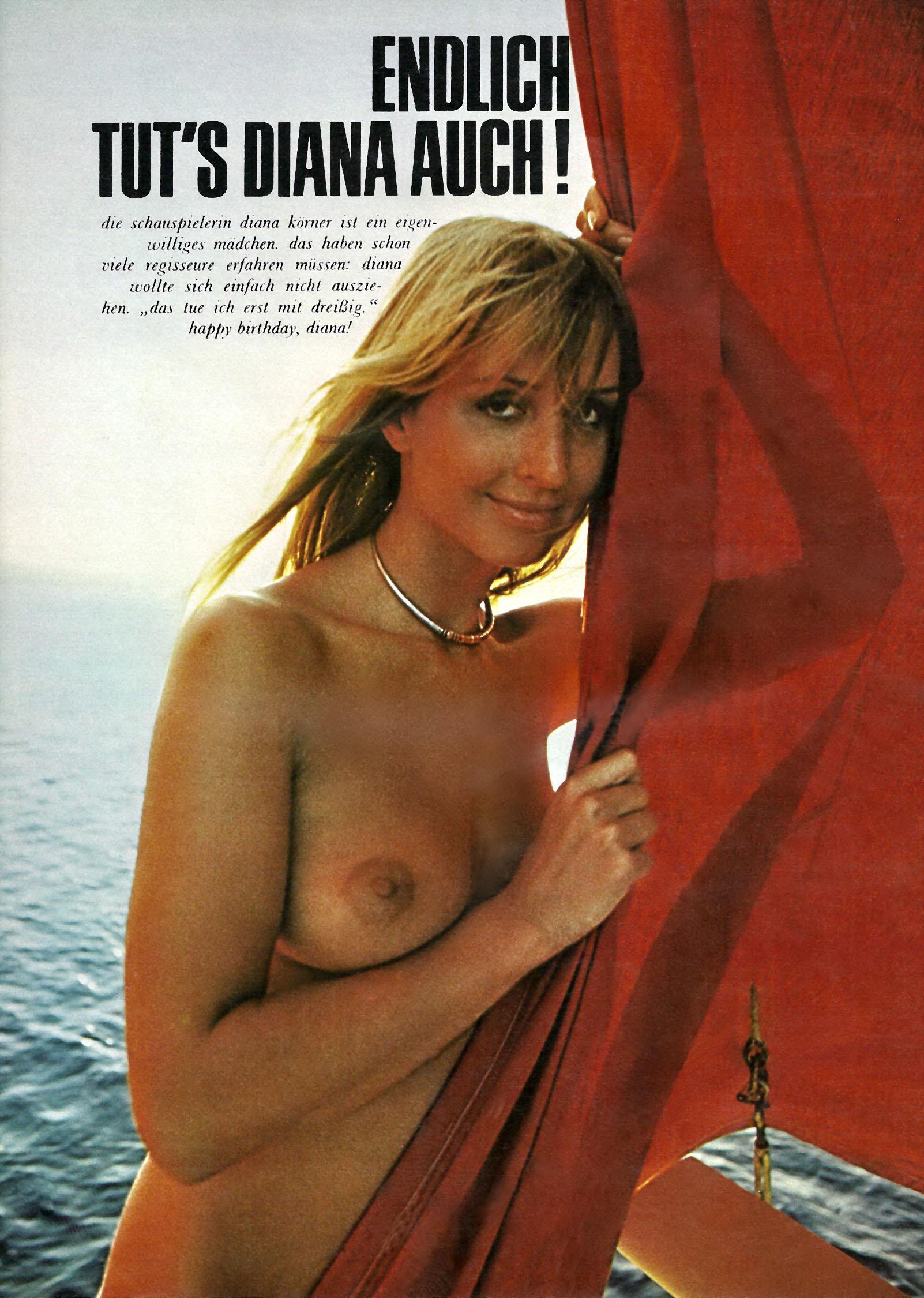 Диана Кёрнер голая. Фото - 2