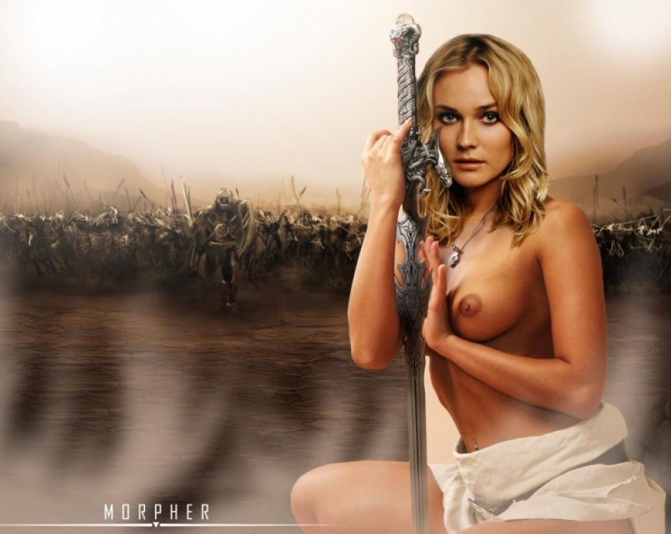 Diane Kruger nude. Photo - 104