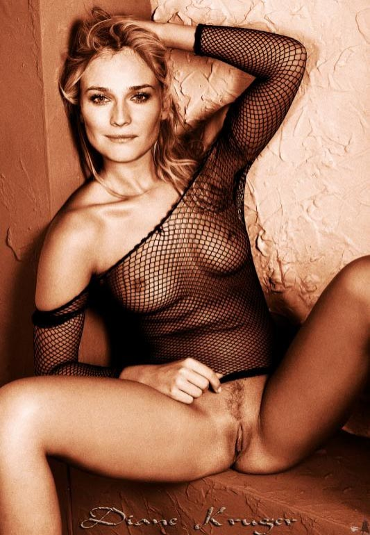 Diane Kruger nude. Photo - 118