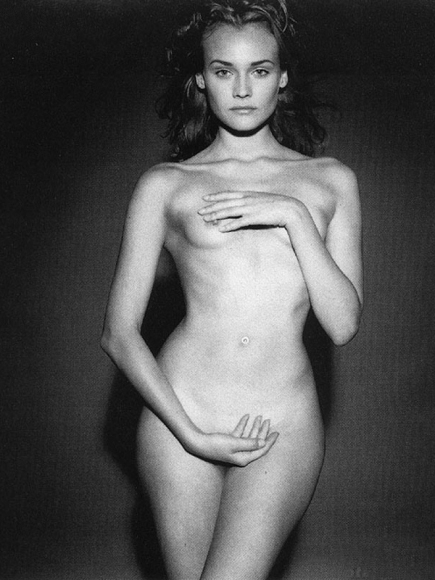 Diane Kruger nude. Photo - 164