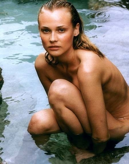 Diane Kruger nude. Photo - 17