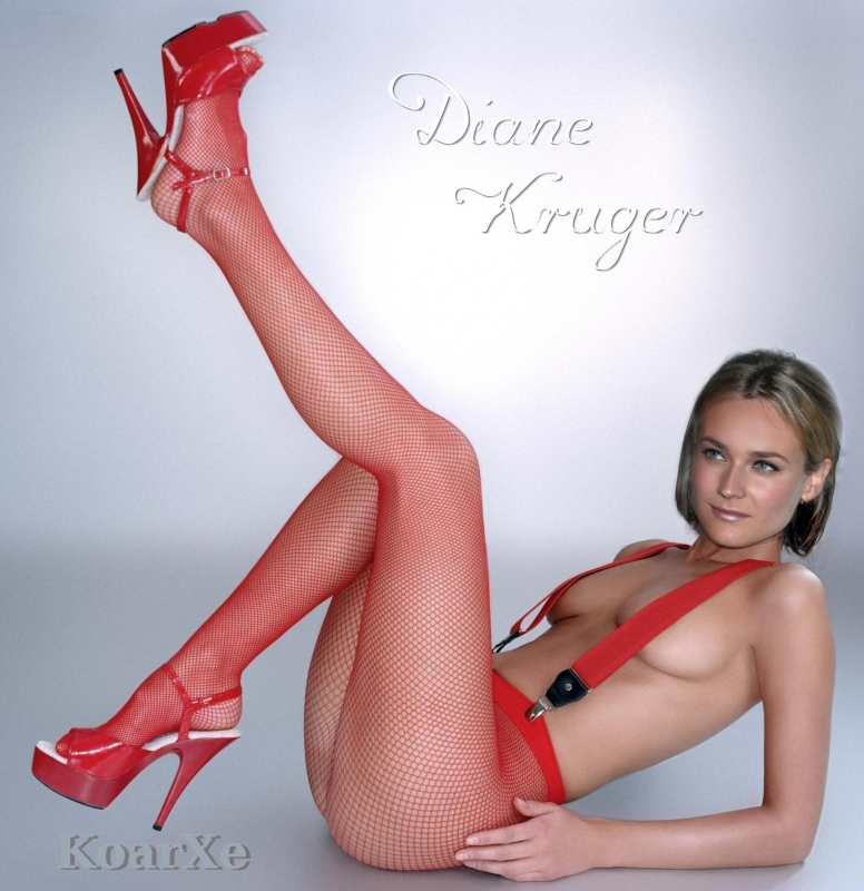 Diane Kruger nude. Photo - 30