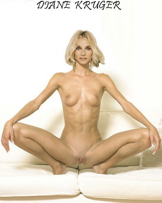 Diane Kruger nude. Photo - 39