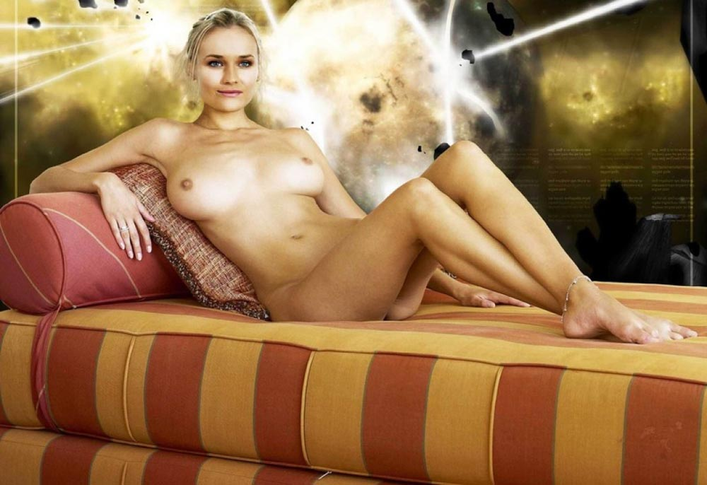Diane Kruger nude. Photo - 57