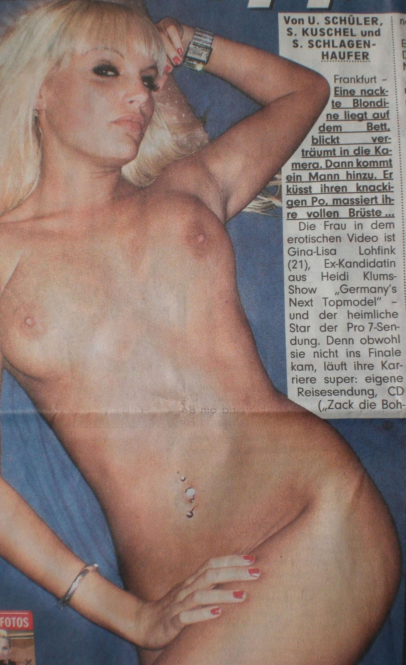 Джина-Лиза Лофинк голая. Фото - 31