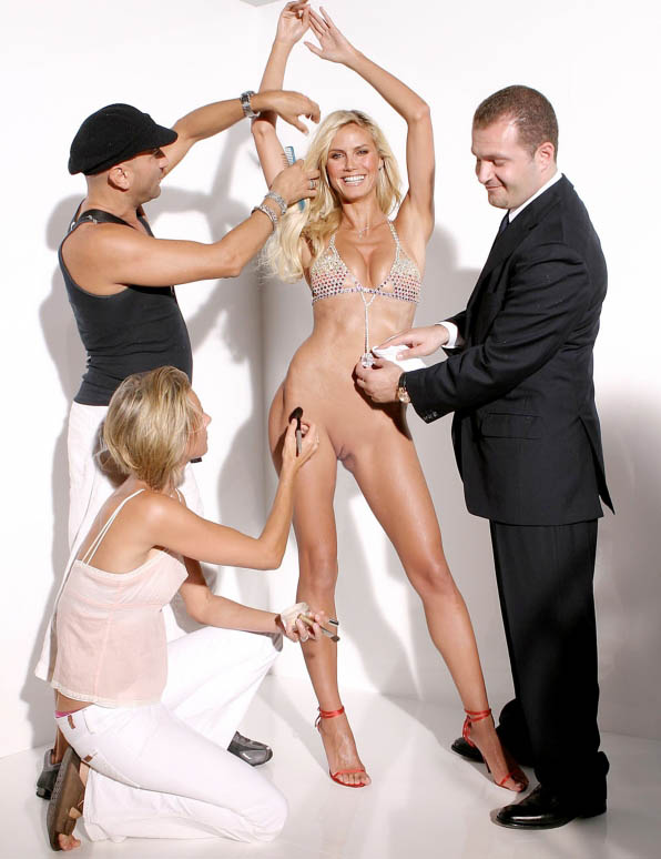 Heidi Klum Nackt. Fotografie - 110