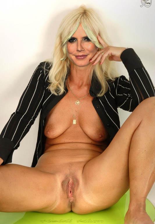 Heidi Klum Nackt. Fotografie - 153