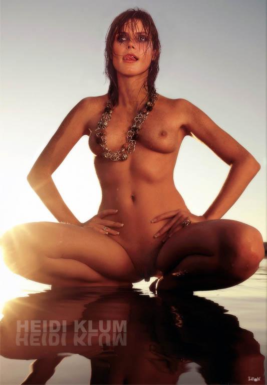 Heidi Klum Nackt. Fotografie - 167