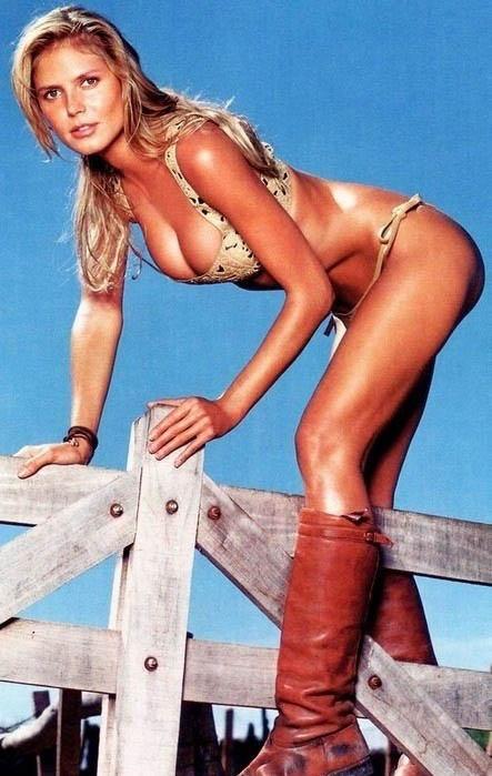 Heidi Klum Nackt. Fotografie - 19