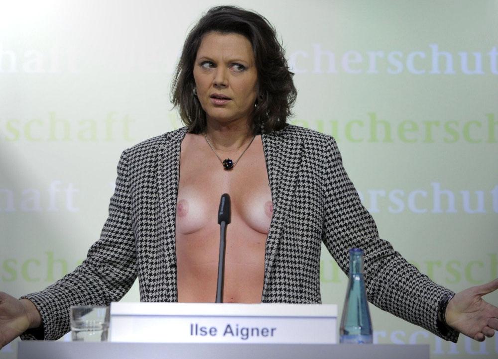 Ильзе Айгнер голая. Фото - 15
