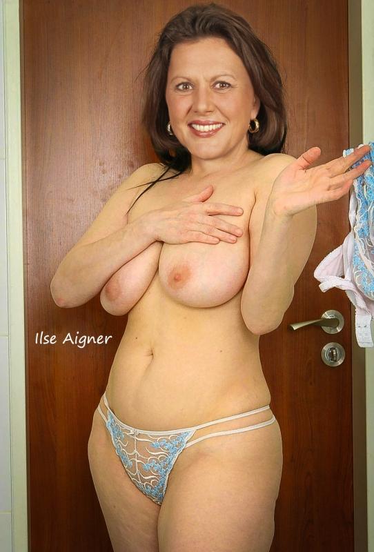 Ильзе Айгнер голая. Фото - 8