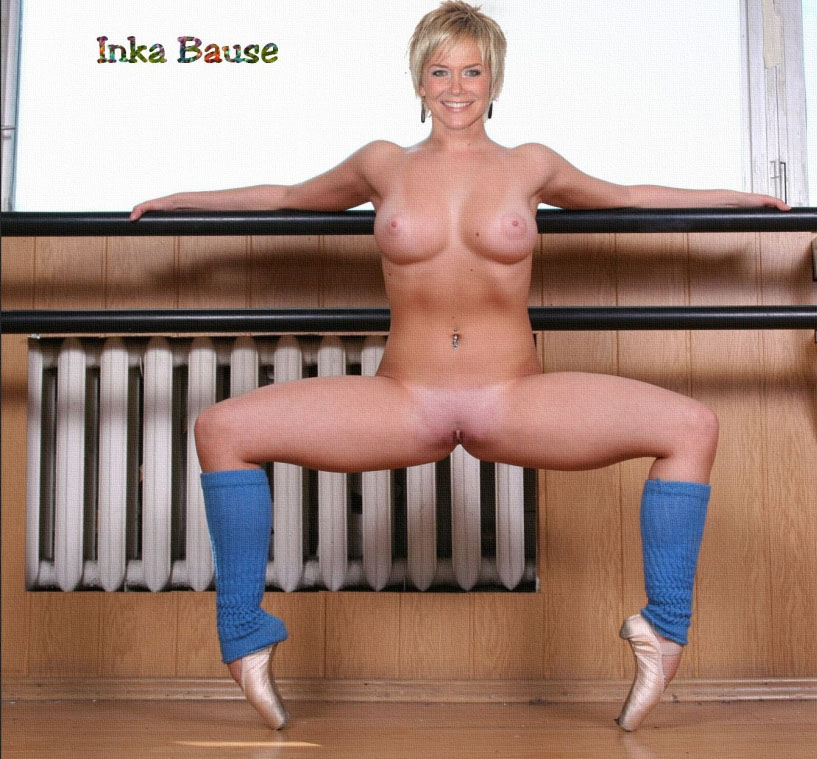 Inka Bause nude. Photo - 14