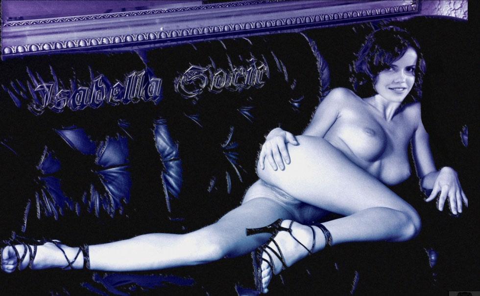 Изабелла Сорик голая. Фото - 9