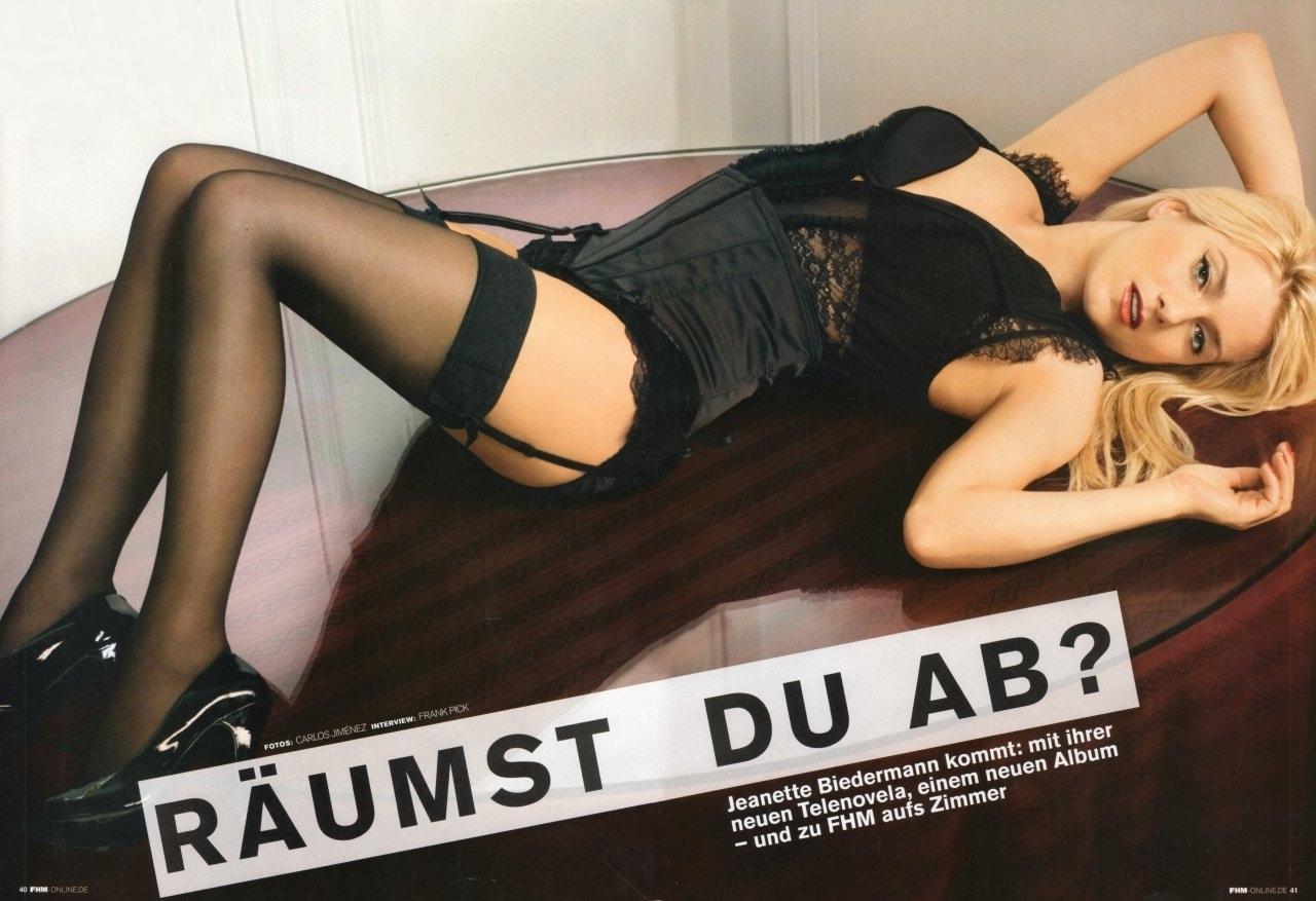 Jeanette Biedermann Nackt. Fotografie - 13