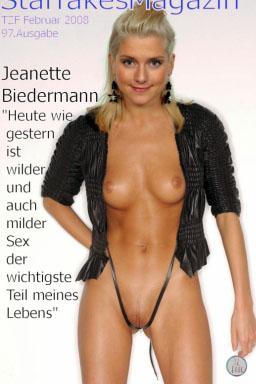 Jeanette Biedermann Nackt. Fotografie - 357