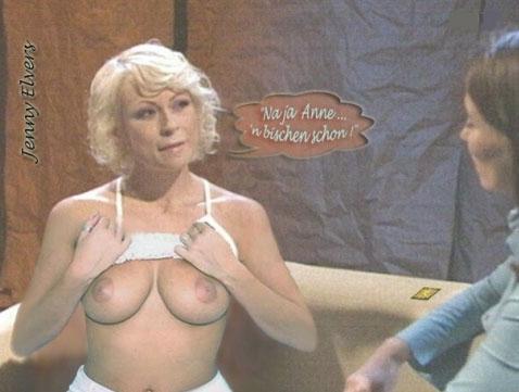Дженни Элверс голая. Фото - 29