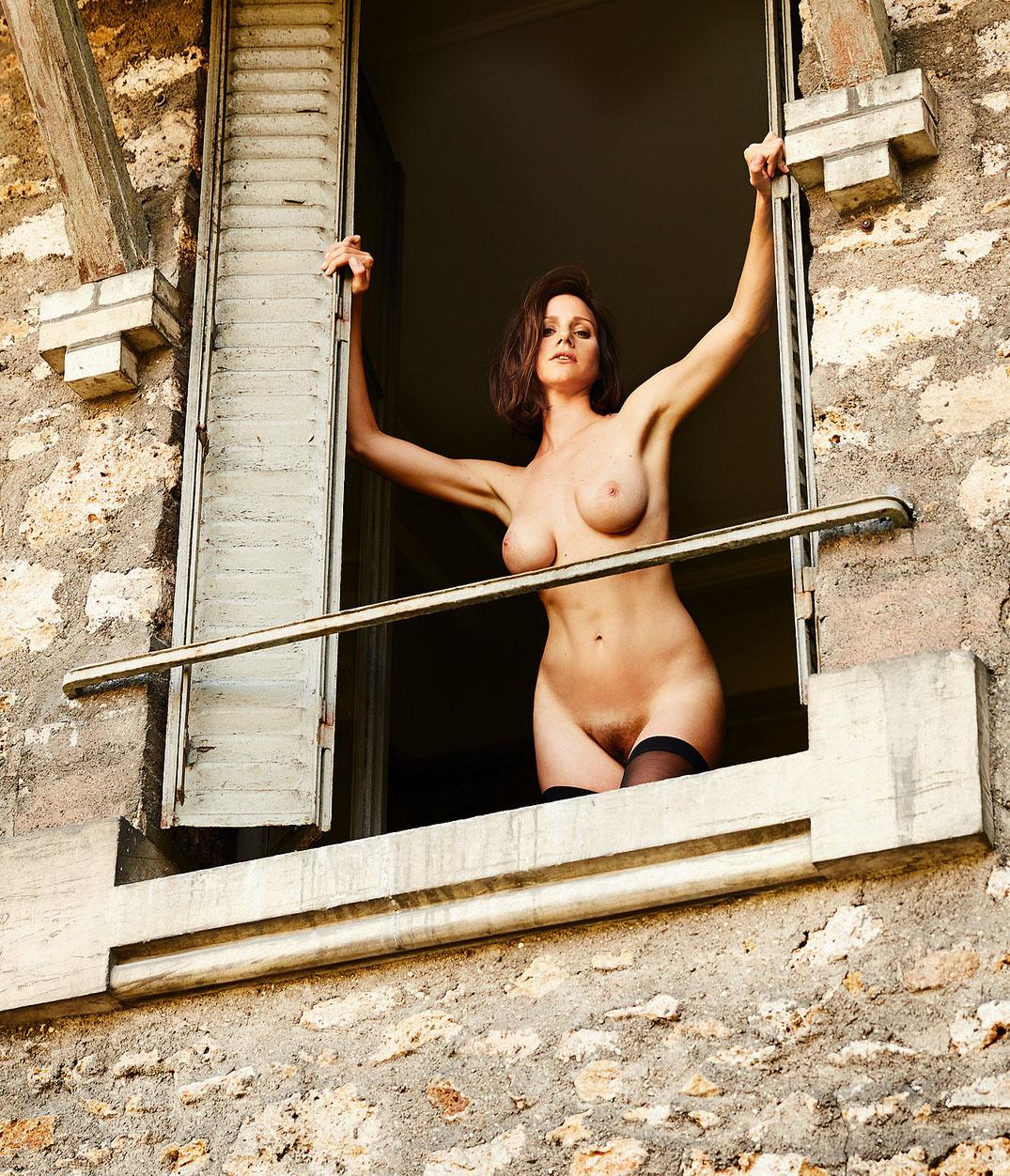 Катрин Хес голая. Фото - 2